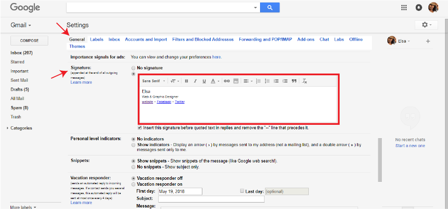 how to gmail signature 2