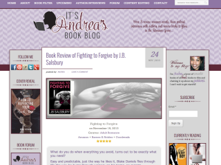 It's Andrea's Book Blog